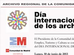 Programa Día Internacional de los Archivos 2013