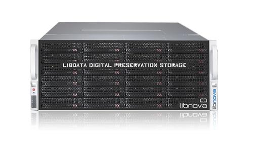 libdata: equipo de almacenamiento para preservación digital