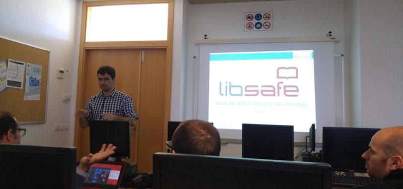 Formación práctica sobre LIBSAFE en la Universidad de las Islas Baleares